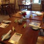 Tables Ready for Dinner