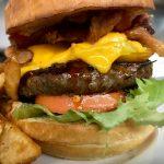 Burger at Griffin Tavern