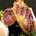 Corned beef egg roll