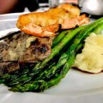 Grilled Flank Steak Surf & Turf