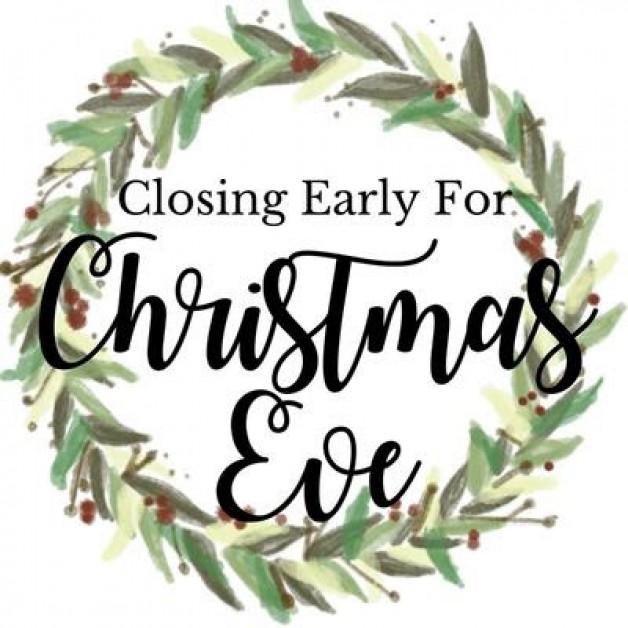 Closing at 7:00pm