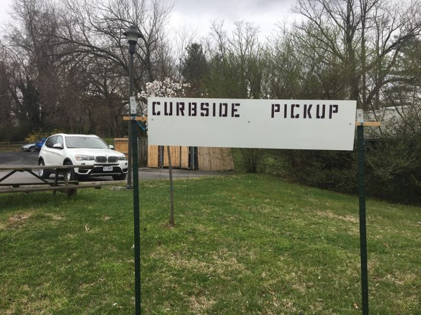 No Events in April/ open for curbside pick up